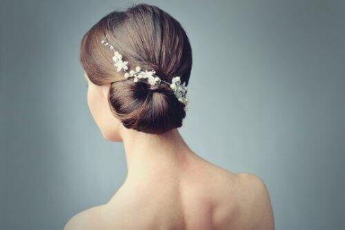 håropsætning til brud