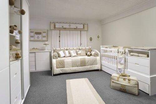 stort værelse til baby