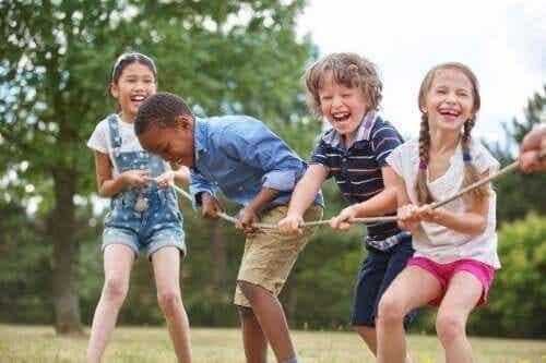 Det basale nødvendigheder i barndommen