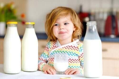 Komælksproteinallergi hos børn