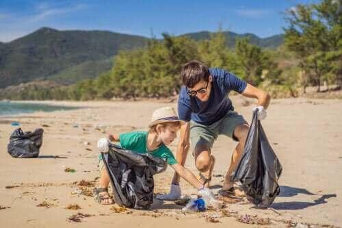 Miljømæssige undervisningsaktiviteter for hele familien