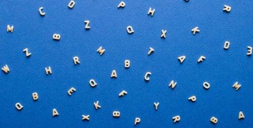 alfabet af pasta