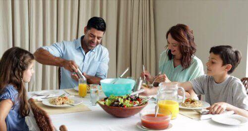 familie der spiser sammen