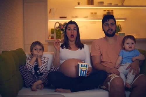 familie der er klar til at se de børnefilm, der udkommer 2019