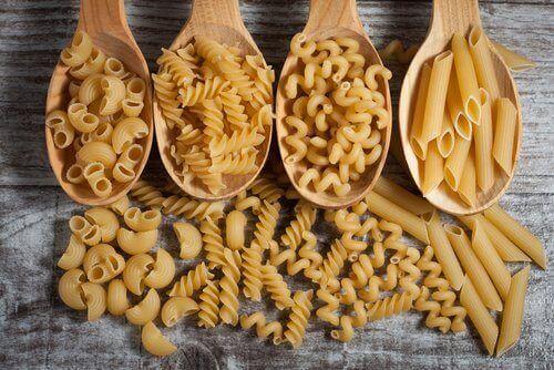 forskellige typer af pasta