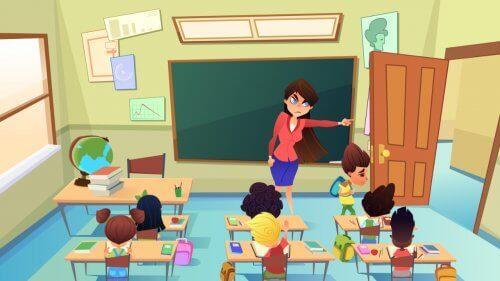 Afstraffelse og håndtering i klasseværelset