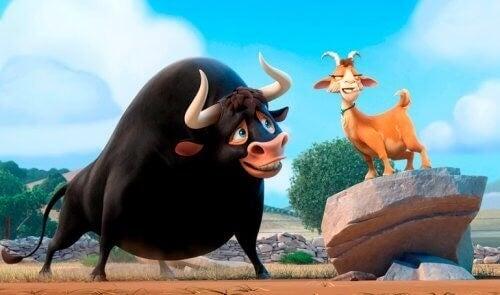 Ferdinand er blandt børnefilm baseret på bøger