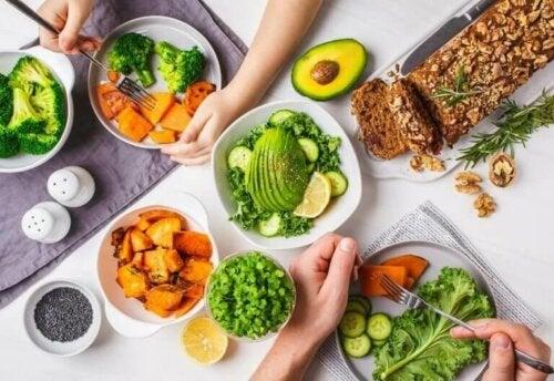 vegetarisk aftensmad