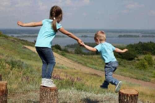 Rivalisering og affektion mellem søskende