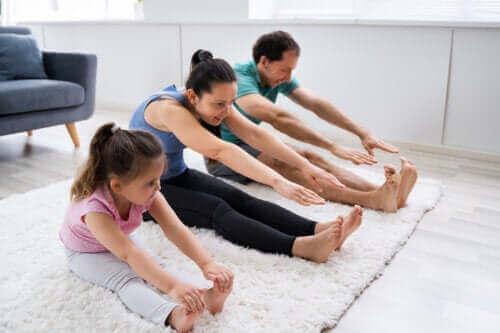 Vigtigheden af at opmuntre børn til at være aktive