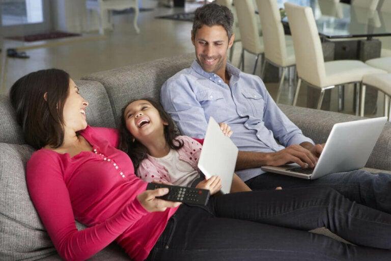 Tid hjemme med familien: Du er velkommen til ikke at lave noget