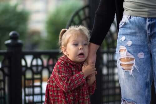 Frygt for dukker hos børn