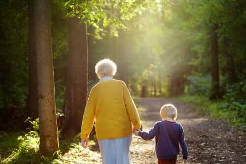 Bedstemødre er lysene, der guider deres børnebørn