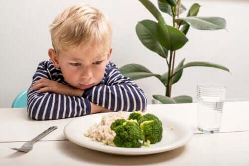 Et barns mangel på appetit efter et års alderen
