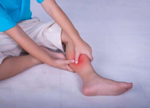 De mest almindelige muskelsmerter hos børn
