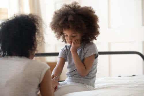 Stress og tandskæren hos børn