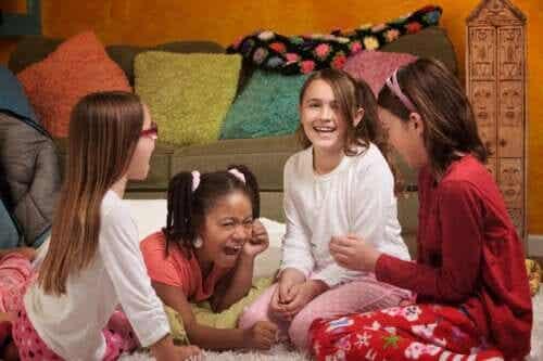 5 sjove lege til pyjamasparty