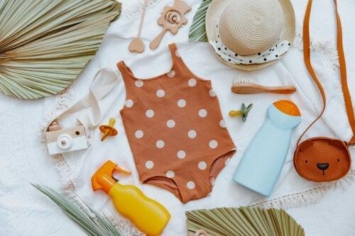 Naturlige solcremer til babyer: Er de effektive?